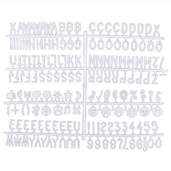 """Felt Letter Board Letters - 1"""" 