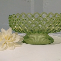 Vintage, Centerpiece, Display Bowl, Regaline, Lime Green, Plastic, Banana Bowl, Retro, Decorative Bowl, Kitchen Decor, RhymeswithDaughter