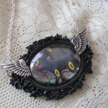 Pokémon - UMBREON - Pokémon Trading Card Necklace - Eeveelutions