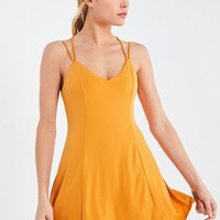 Silence + Noise Strappy Low-Back Mini Dress | Urban Outfitters