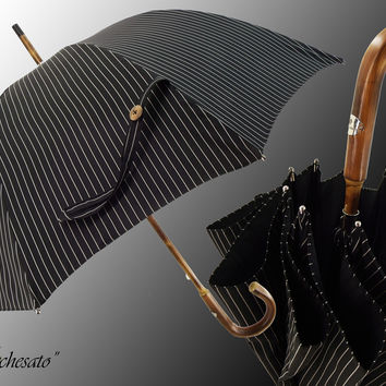 Marchesato Men's Striped Umbrella