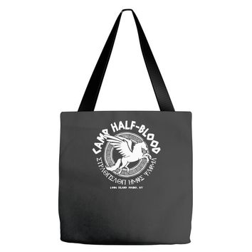 camp half blood long island Tote Bags