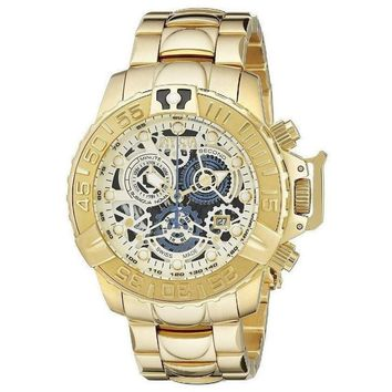 Invicta 18236 Subaqua Analog Display Swiss Quartz Gold Watch Men's Watch