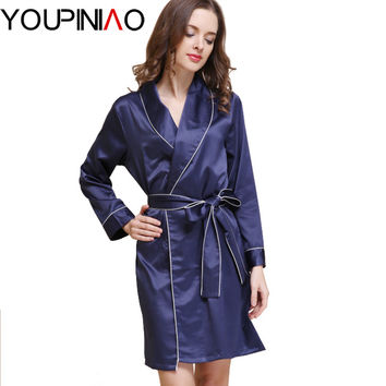 Silk Bathrobe Women Satin Kimono Robes For Women Robes Bridesmaids Long Kimono Robe Bride Silk Robe Dressing Gown