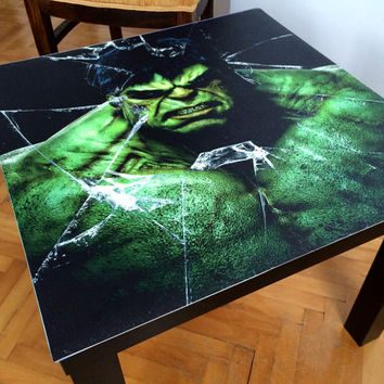 HULK Coffee Table / Superhero Coffee Table