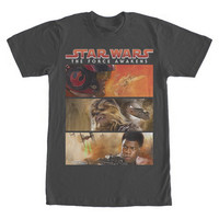 STAR WARS TFA THREE BARS T-SHIRT