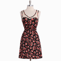 terra cotta floral dress - $34.99 : ShopRuche.com, Vintage Inspired Clothing, Affordable Clothes, Eco friendly Fashion