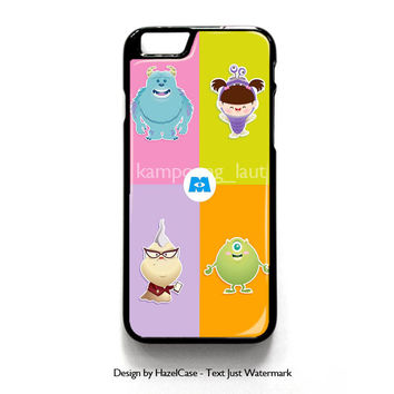 Monster Inc Cute Baby for iPhone 4 4S 5 5S 5C 6 6 Plus , iPod Touch 4 5  , Samsung Galaxy S3 S4 S5 Note 3 Note 4 , and HTC One X M7 M8 Case Cover