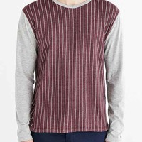 BDG Pinstripe Long-Sleeve Tee-