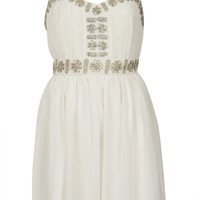 Embellished Strap Dress - Dresses - Clothing - Topshop