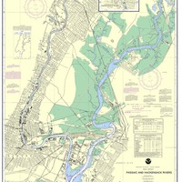 NOAA Nautical Chart 12337: Passaic and Hackensack Rivers