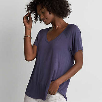 AEO Soft & Sexy Swing T-Shirt , Blueberry