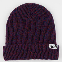 Neff Fold Beanie Maroon One Size For Men 26586732301