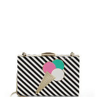 Miss Penny's Emanuelle Vinyl Ice Cream Clutch