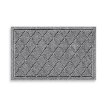 Weather Guard™ 18-Inch x 28-Inch Argyle Doormat