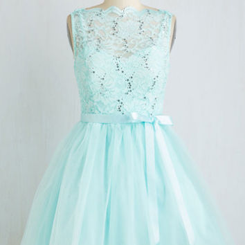 Sleeveless Ballerina Party Frock Anthem Dress