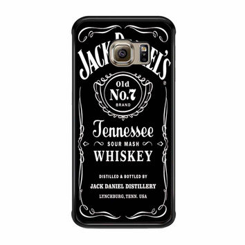 Jack Daniels Black Samsung Galaxy S6 Edge Plus Case