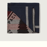 Woolrich with A&F Pacific Crest Trail Blanket