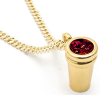 Mint Double Cup Chain Red