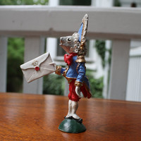 The Fish Footman-Alice in Wonderland-Hamilton Collections-Hand Painted Pewter Figurine