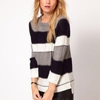Oasis Bold Stripe Jumper at asos.com