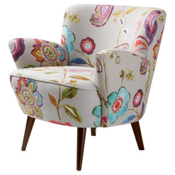 Sophie Floral Accent Chair | Overstock.com Shopping - The Best Deals on Living Room Chairs
