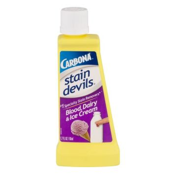 Carbona Stain Devils Blood, Dairy, And Ice Cream Stain Remover, 1.7 Ounces - Walmart.com