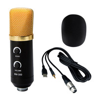 New Promotion Black 3.5mm USB Microphone Mic Studio Recording with Shock Mount Musical Instruments Accessories