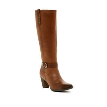 Fiby Waterproof Leather Tall Boot, Size 6