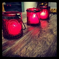 Styled Vintage Tea Light Holder Votive
