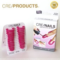CreaNails -Professional Nail Polish Stencils:Amazon:Beauty