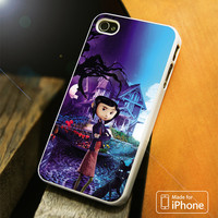 Coraline Cover Movie iPhone 4S 5S 5C SE 6S Plus Case