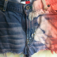 low waisted american shorts