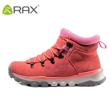 2017 Sale New Hiking Boots Zapatillas Hombre Autumn And Winter Hiking Shoes Slip Warm Waterproof Outdoor Leather Men 53-5b336