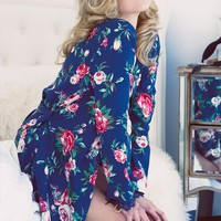 Wildfox Gypsy Rose Lace Robe in Multi
