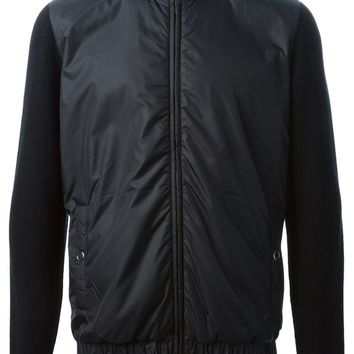 Hugo Hugo Boss knit paneled jacket