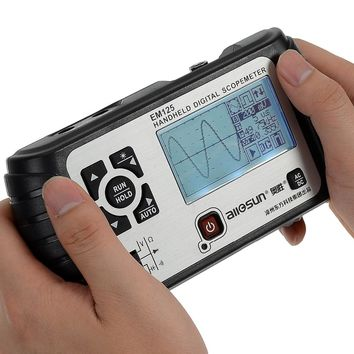Digital 2 in 1 Handheld Portable Oscilloscope+Multi-meter