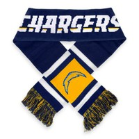 NFL San Diego Chargers Stripe Scarf