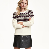 H&M Sweater with Beaded Embroidery $29.99