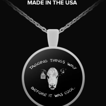 Tagging Things Way Before It Was Cool Necklace sstagneck