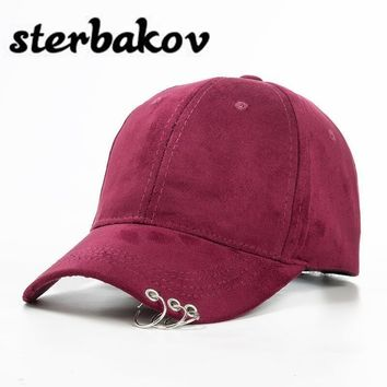Trendy Winter Jacket 2017 New Women Casual Baseball Cap Dad Hat Deus Cap Pink Black Lady Ovo Drake Hats Snapback Suede Cap Trucker Cap Men AT_92_12
