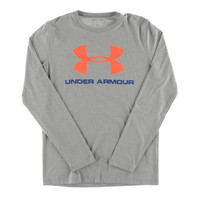 Under Armour Mens Heathered Long Sleeve T-Shirt