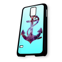Anchor Nebula On Blue Mean Samsung Galaxy S5 Case