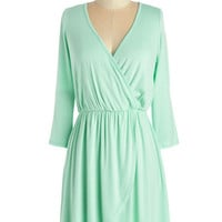 Pastel Short Length 3 A-line Softest Whisper Dress