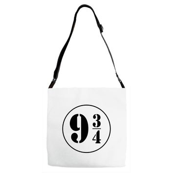 Harry Potter Train 9 3:4 Adjustable Strap Totes