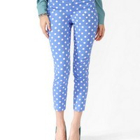 Polka Dot Ankle Pants