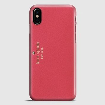 Kate Spade Pink Wallet iPhone X Case