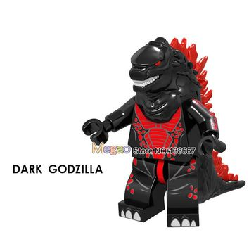 Single sale Building Blocks Dark Godzilla XL005 Red The baby toys Collection Figure Toys to friends Briks Children Toys