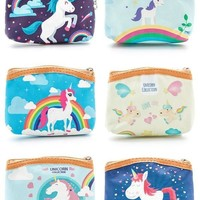 Magical Unicorn Zipper Pouch