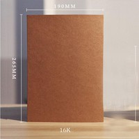 Art supplies A4 Blank sketchbook Diary for Drawing graffiti 56 sheets kraft notebook paper Sketch Book Office School Supplies